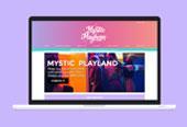 Mystic Mayhem Website